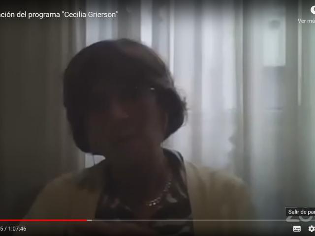 Prof. Daniela Gentilini, Secretaria de Acción Social y DDHH de Comisión Ejecutiva de FAGDUT