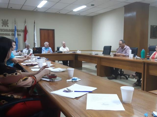 La reunión de Comisión Ejecutiva se desarrolló Viernes y Sábado