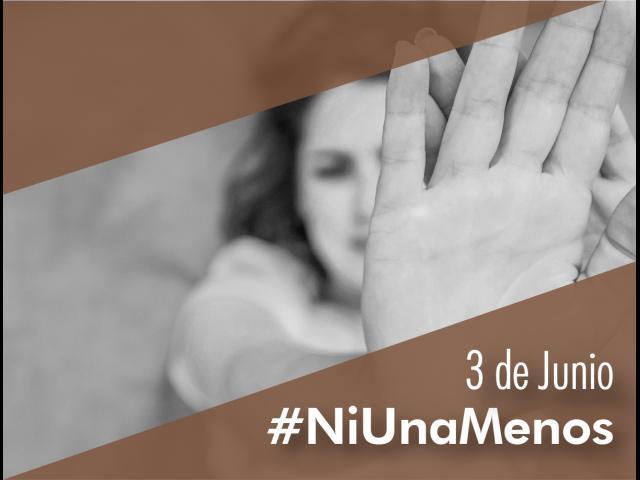 #NiUnaMenos se enuncia desde 2015